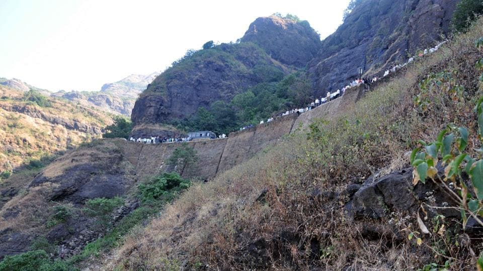 The Malshej Ghat, a popular picnic destination during monsoons, is prone to landslides.