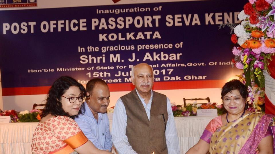 Passport office,MJ Akbar,Sushma Swaraj
