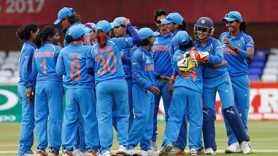 India thrashed New Zealand by 186 runs to reach the ICC Women's World Cup semis.