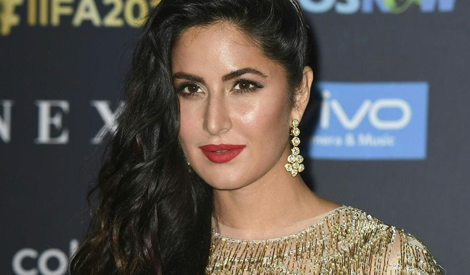 Katrina Kaif arrives at the MetLife Stadium in East Rutherford, New Jersey during the 18th International Indian Film Academy (IIFA) Festival.