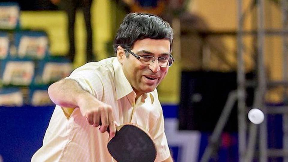 Viswanathan Anand,Ultimate Table Tennis,Table Tennis
