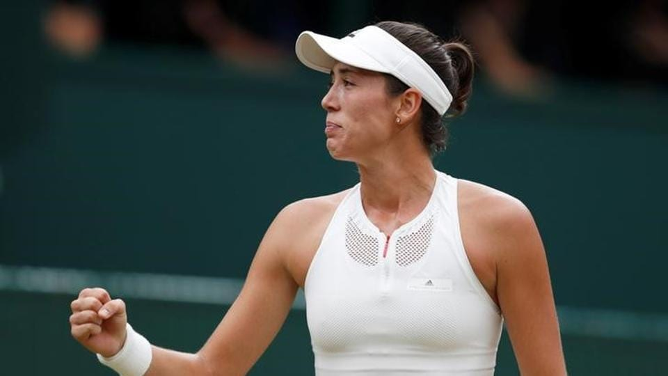However, Garbine Muguruza had other plans as she gave her opponent a tough time. (Reuters)