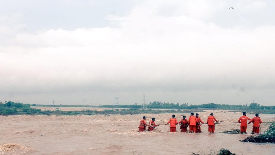 Rescue operations gained momentum on Sunday as the rains took a break after lashing several parts of the state.