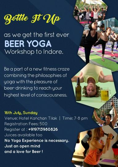 Beer yoga,indore,right wing