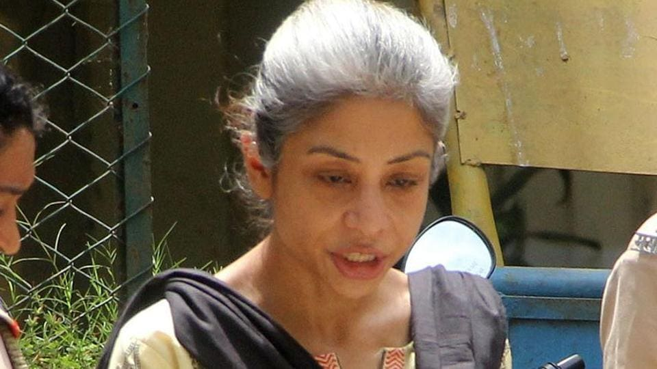 Indrani Mukerjea, jailed former media baron, along with other woman inmates at Byculla jail, have been accused of using children as shields against lathi charge
