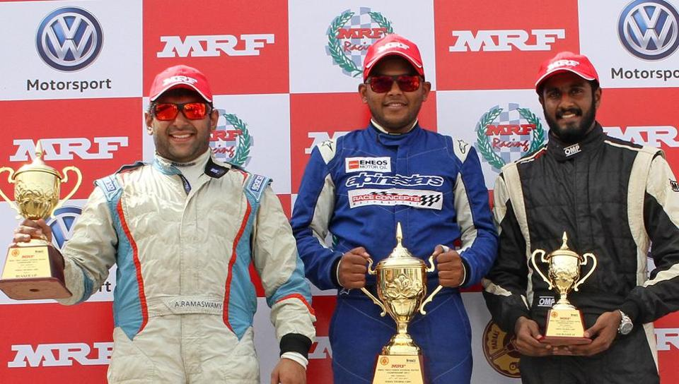 Deepak Paul Chinnappa dominates Indian Touring Cars class with a double
