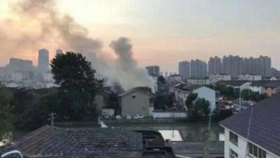 Fire,Jiangsu,Changshu