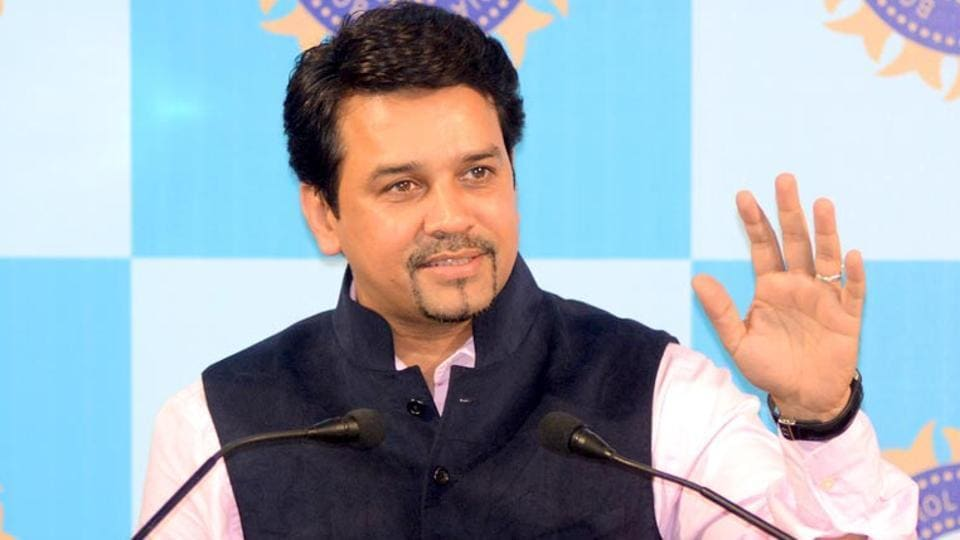 Anurag Thakur has said he 'won't shy away from accepting responsibility' if Indian cricket needs him.