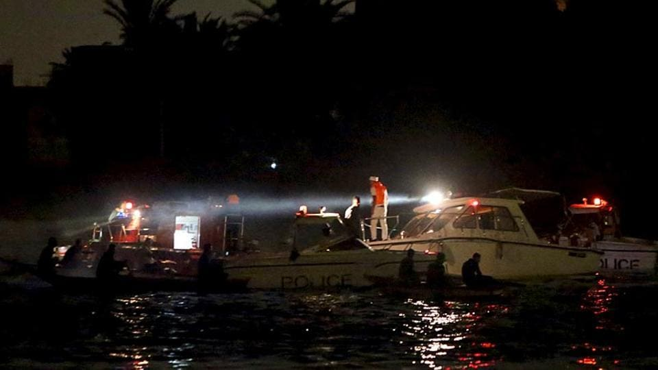 Representative Image | Police boats search for victims of a ferry boat accident.