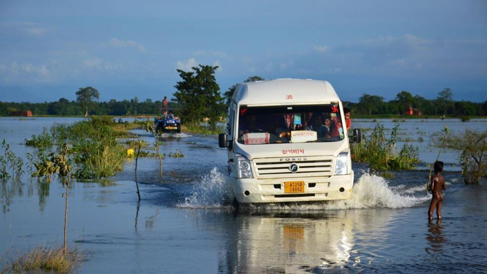 Assam floods,Changing weather,Water logging