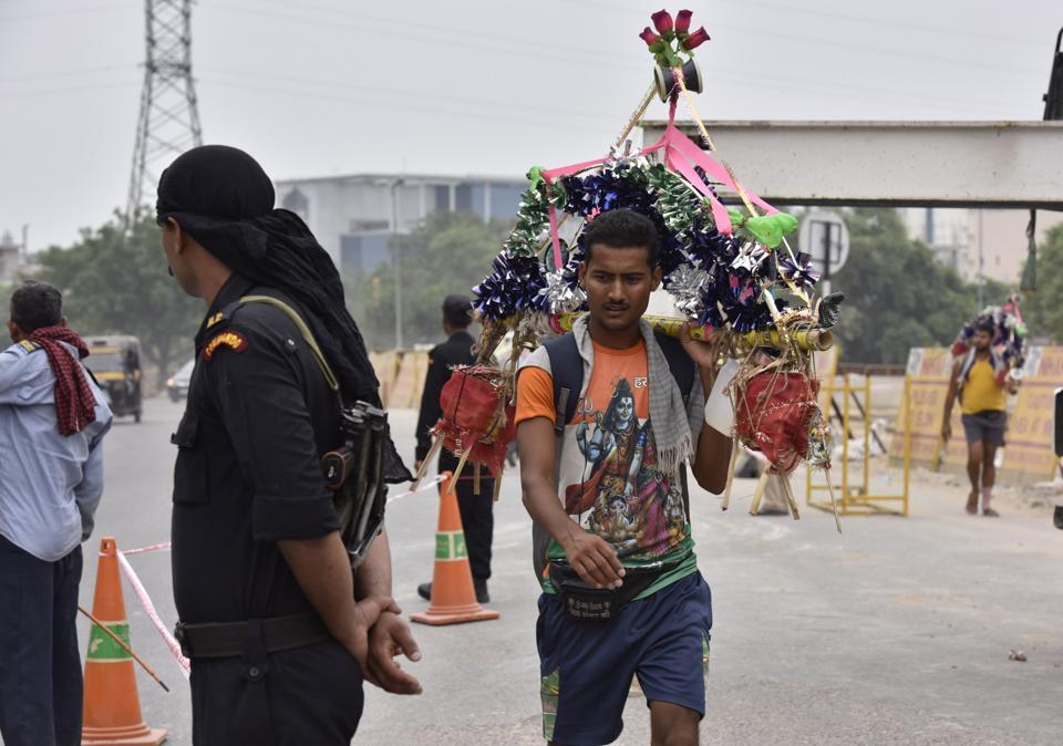 Amarnath pilgrims,Gurgaon police,Delhi-Gurgaon expressway