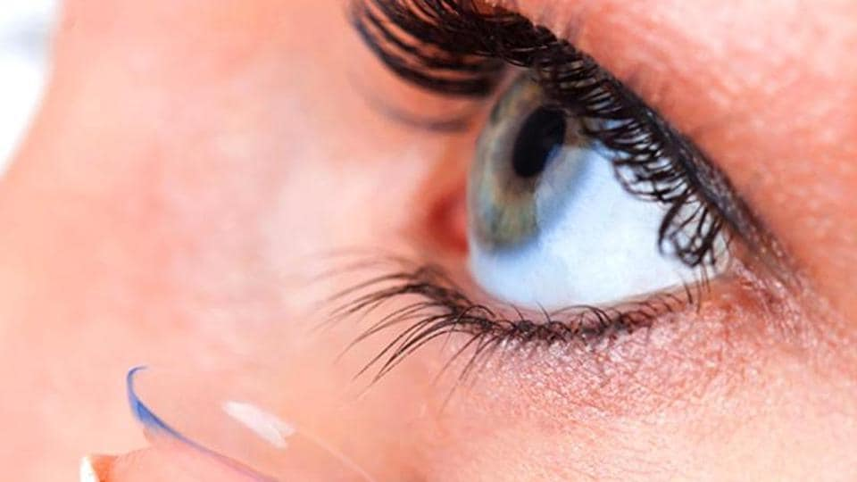 In an article in the journal doctors said the patient had worn monthly disposable lenses for 35 years
