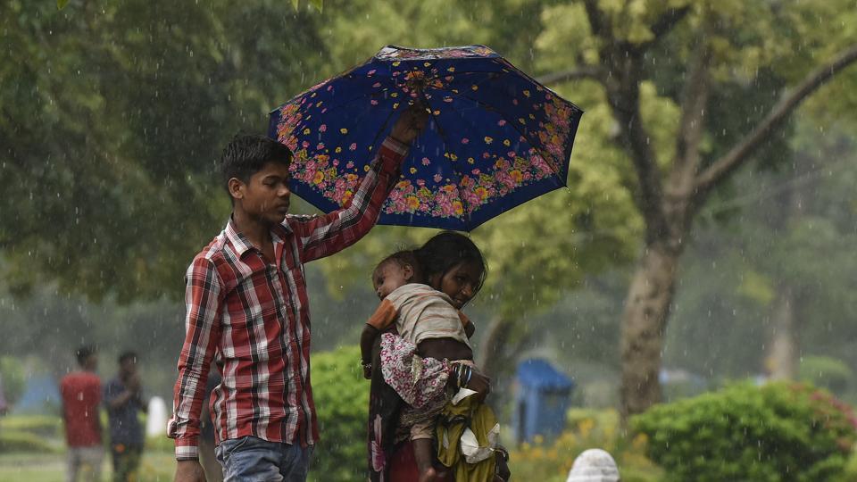 Delhi rain,monsoon,heat