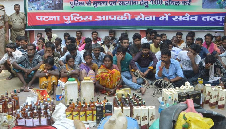 The Bihar government and police have seized huge hauls of liquor since the ban.