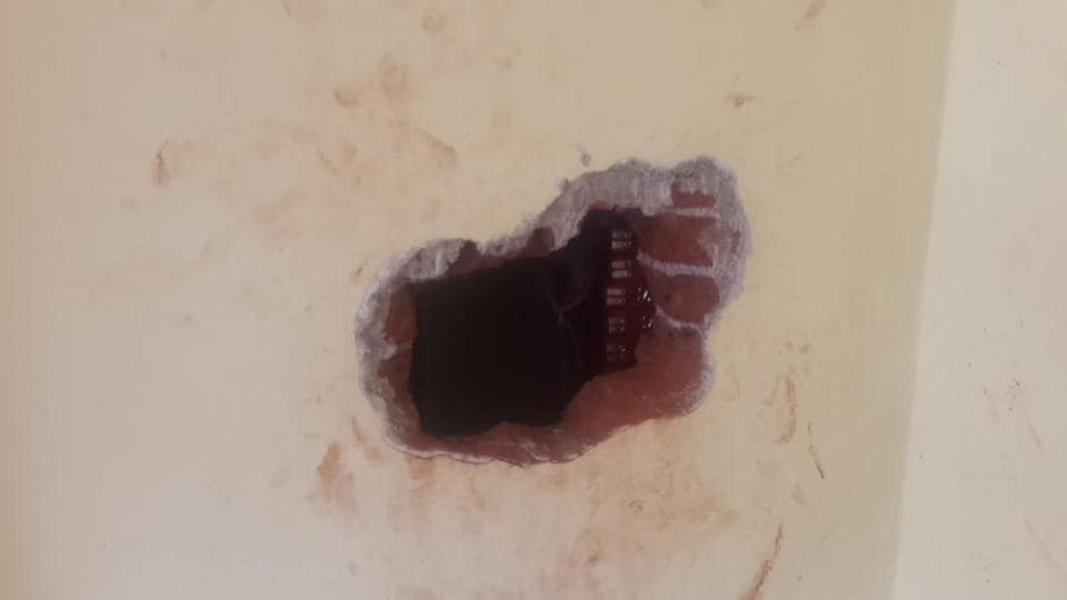 Thieves loot Mumbai jewellery store through hole in wall, cops think it's an inside...