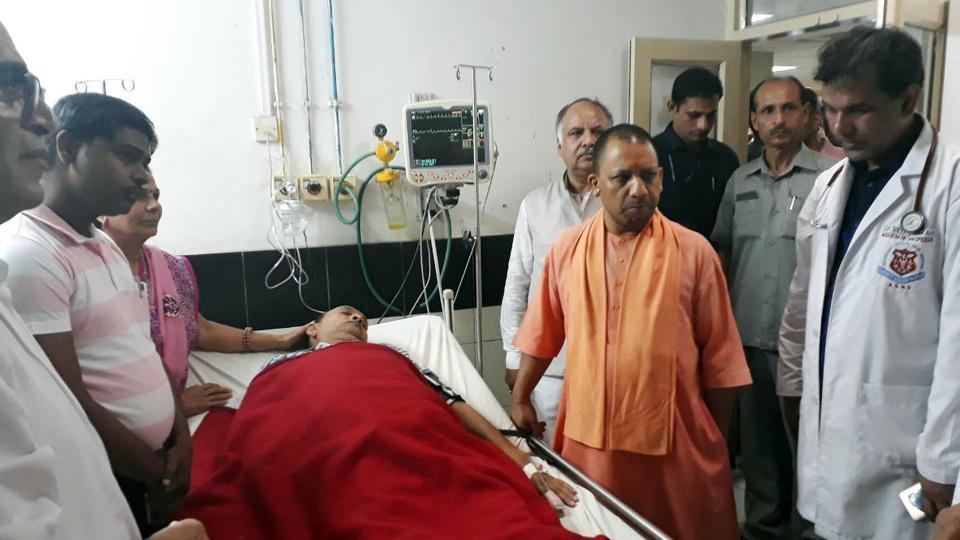 KGMU fire,Trauma center,Lucknow