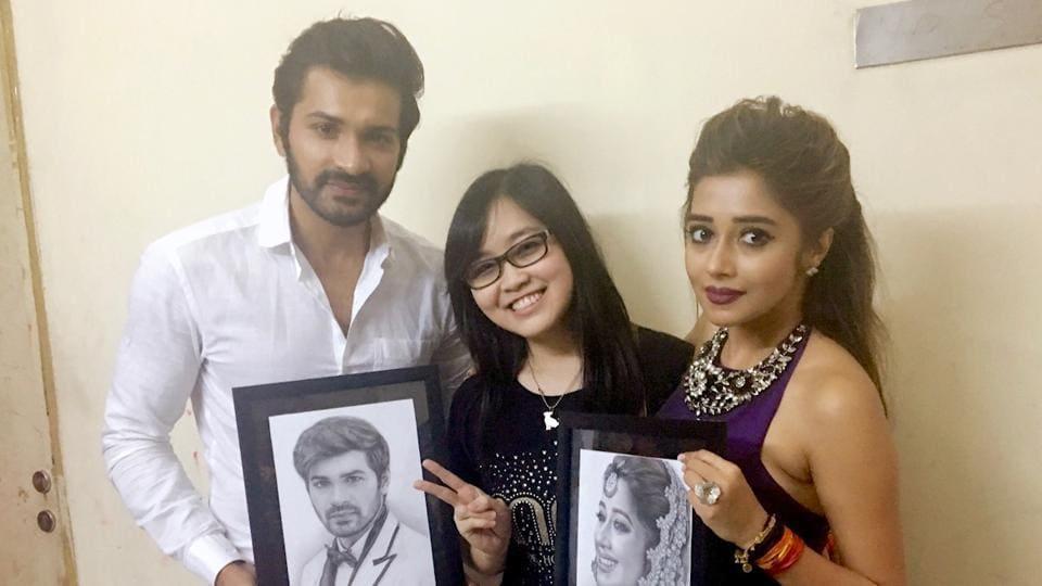 Mrunal Jain,Tinaa Duttaa,Fan Moment