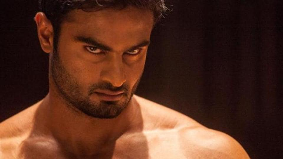 Sudheer Babu in a scene from his film Baaghi.