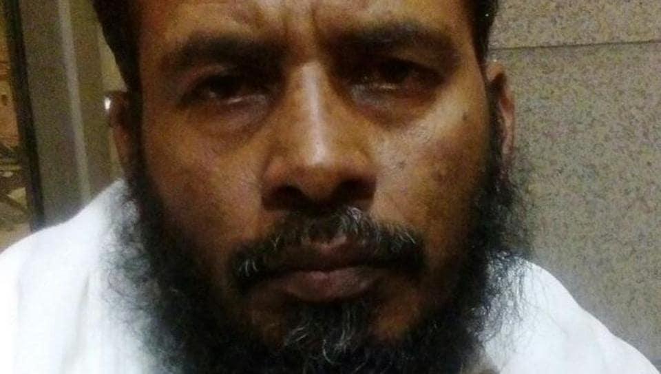 Salim Mukim Khan was arrested from Mumbai airport.