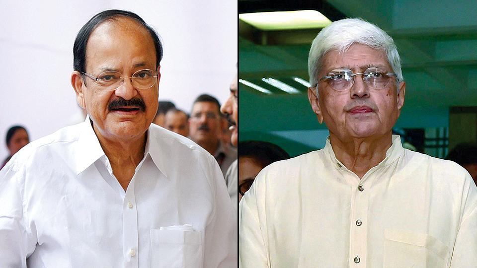 Venkaiah Naidu's victory seems to be a foregone conclusion as he has a clear lead over Opposition nominee Gopal Krishna Gandhi in an electoral college consisting of 790 parliamentarians.