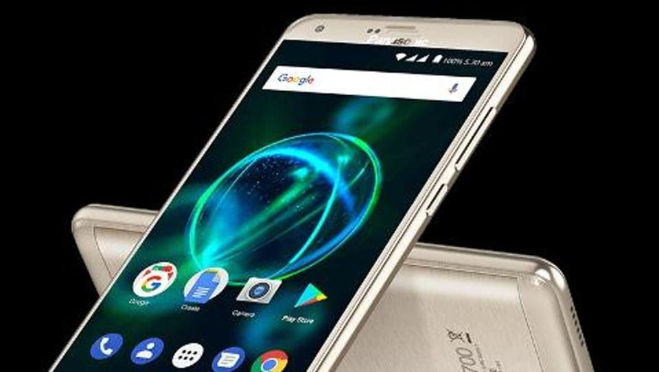 The newly launched P55 Max smartphone has 5MP front camera and will be available on Flipkart.