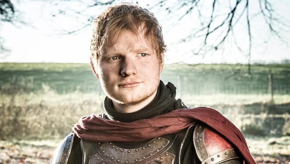 Ed Sheeran previously appeared in another fantasy show, The Bastard Executioner, in a five-episode arc.