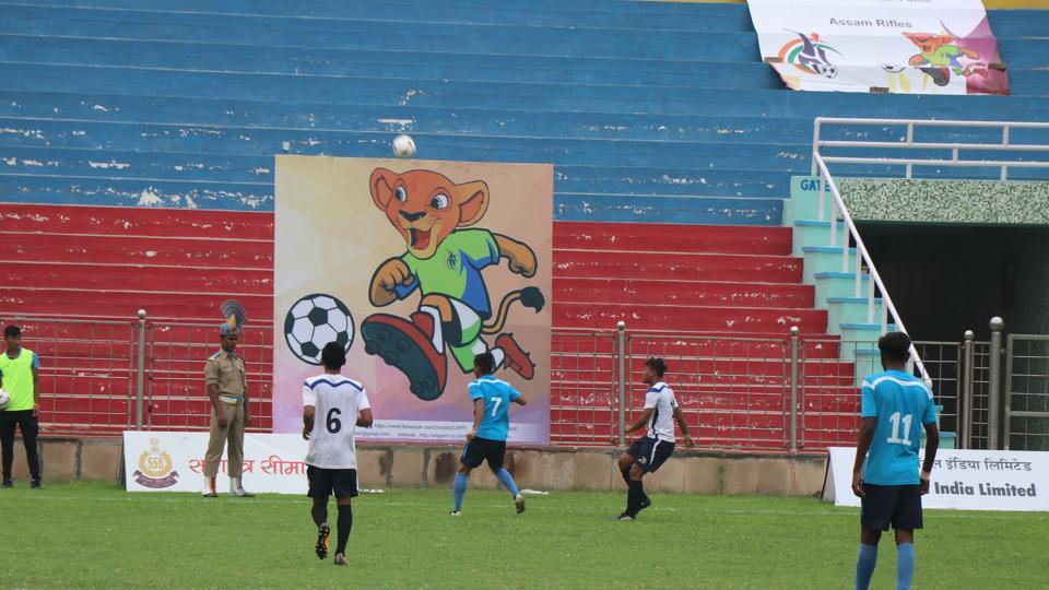 Unbeaten Manipur take on Haryana in the girls' final of the OORJA under-19 Football Talent Hunt tournament.