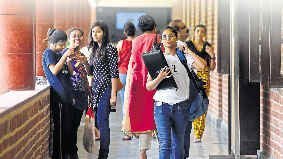 Delhi Police College Students And Authorities Brace For Day One Of Delhi University Education Higher Studies Hindustan Times