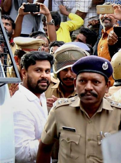 Malyalam actor Dileep being sent to judicial custody till 25th July, after the Angamaly Judicial First Class Magistrate Court rejected his bail plea in connection to his alleged involvement in the abduction and sexual assault case.