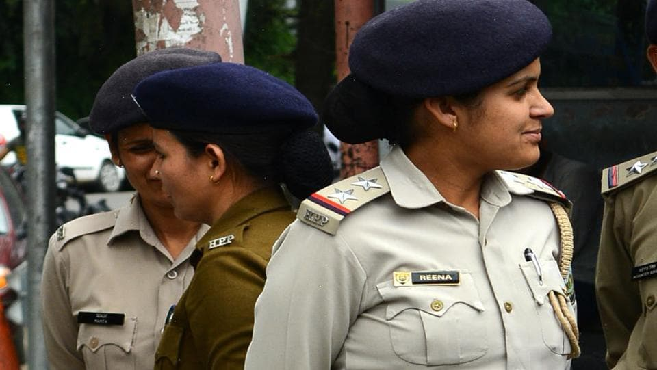 Women staffers comprise only 20% of the police force.