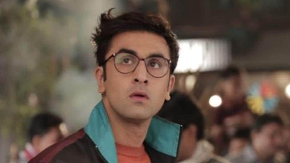 Ranbir Kapoor in a still from the movie Jagga Jasoos.