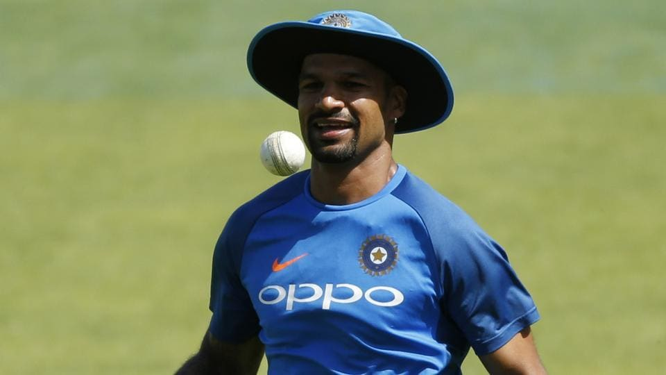 Dhawan to replace injured Vijay for Sri Lanka Test tour