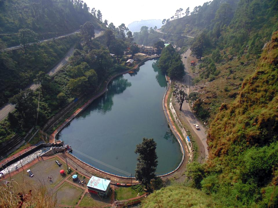 Sadiya Taal (decaying lake in English) in Nainital. Though it was decided to rename the lake as Sarita Taal, it continues to be known by its original name.