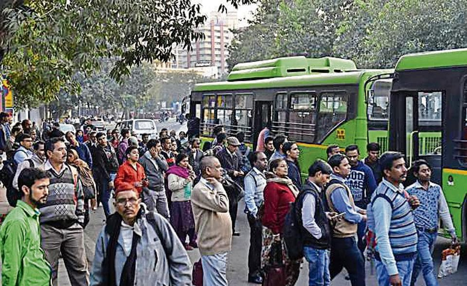 CCTV cameras at Delhi bus stops to keep an eye on DTC drivers who don't stop for passengers