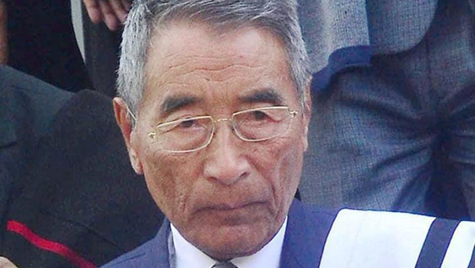 Nagaland Chief Minister Shurhozelie Liezietsu
