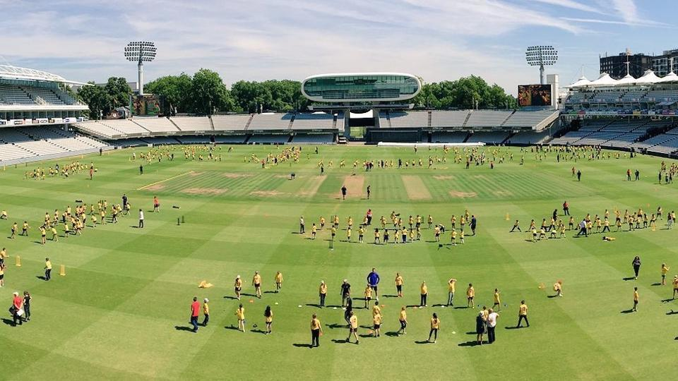 Lord's cricket ground entered the Guinness World Records for conducting the largest cricket lesson at a single venue, beating the previous mark set by the Sydney Cricket Ground.