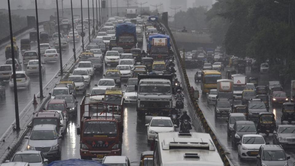 Mumbai city news,traffic update,Mumbai rain
