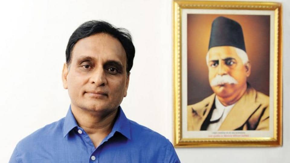 RSS thinker and Delhi University professor Rakesh Sinha.