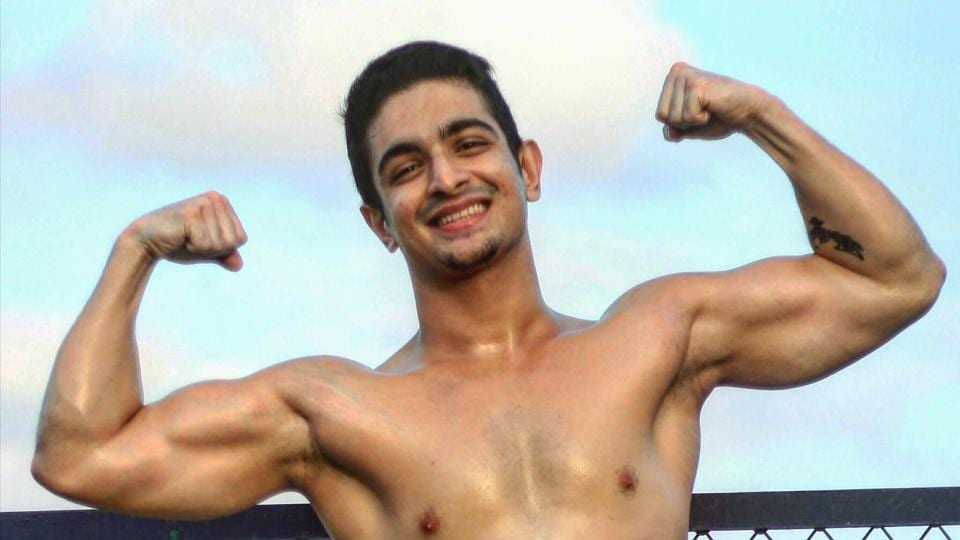 Ranveer Allahbadia, 24, started weight-training and put on 25kg through a healthy exercise and diet regime.