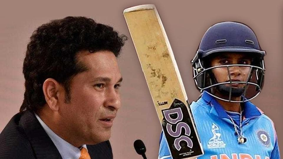 Mithali Raj was praised by Sachin Tendulkar and other cricketing greats after she became the highest run-getter in ODIs during the course of her 69-run innings against Australia in a Women's Cricket World Cup game in Bristol.
