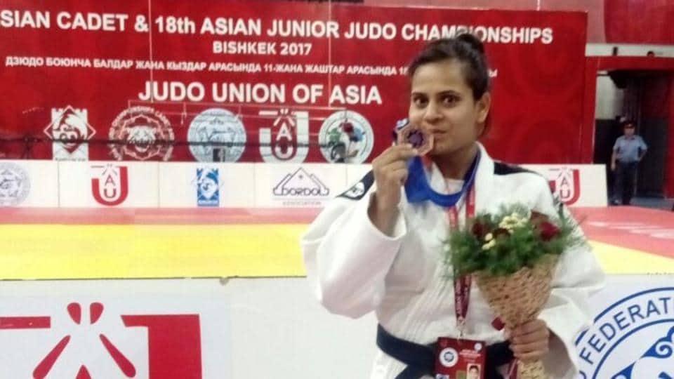 India won three bronze medals at the Asian Junior Judo Championships.