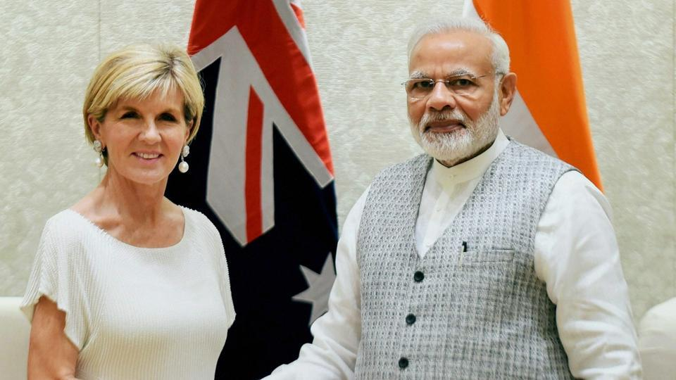 India-Australia relations,Donglang standoff,India-China standoff