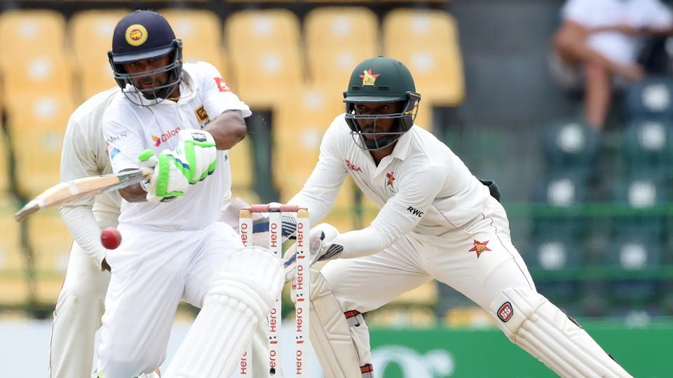 Asela Gunaratne's aggressive 80, combined with Niroshan Dickwella's 81 and Kusal Mendis' 66 helped Sri Lanka win the Colombo Test by four wickets. Catch full cricket score of Sri Lanka vs Zimbabwe, day 5 here.