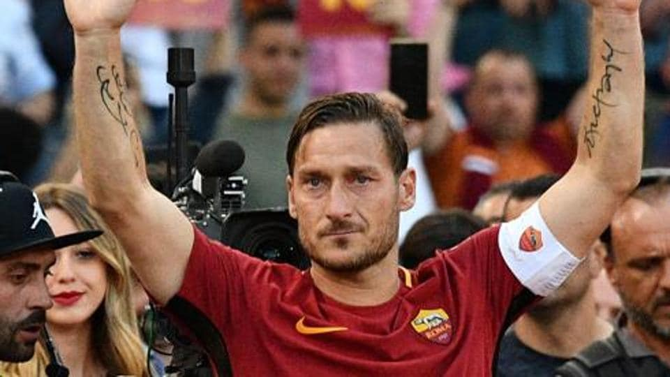 Francesco Totti,AS Roma,Football