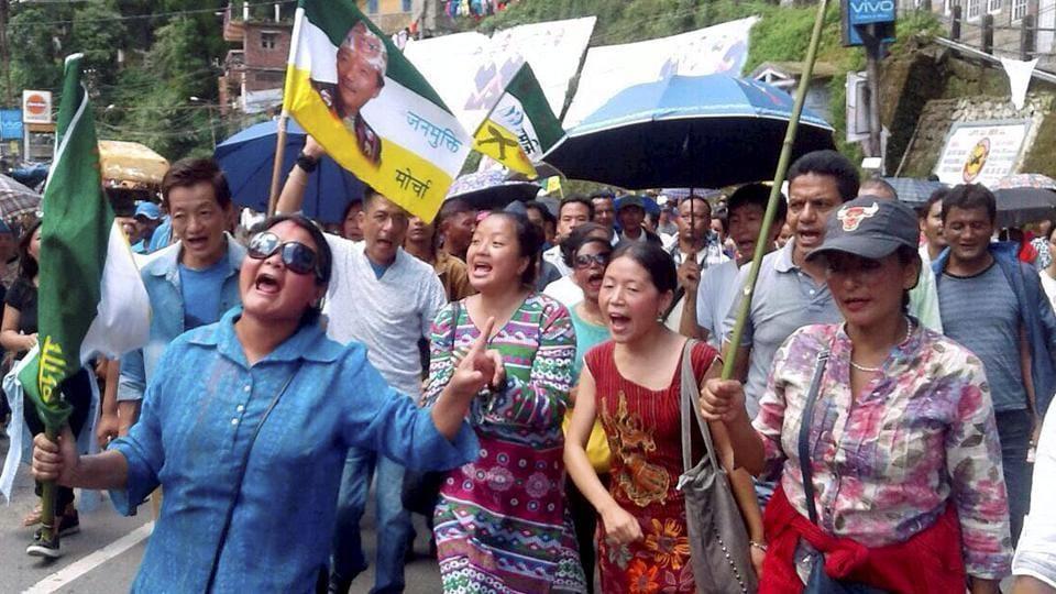 Unrest in Darjeeling hills,Darjeeling violence,Mirik area of Darjeeling hills