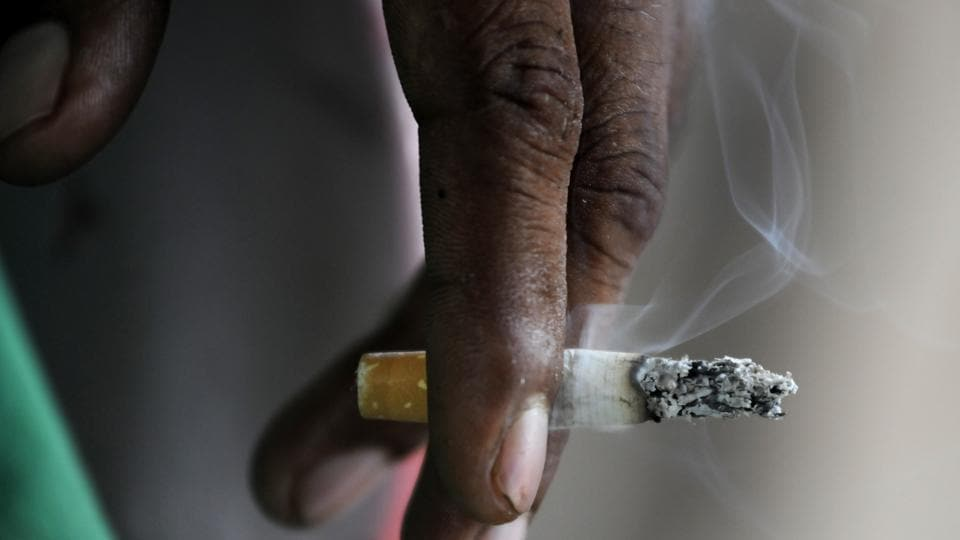 Tobacco use kills more than 900,000 people a year in India.