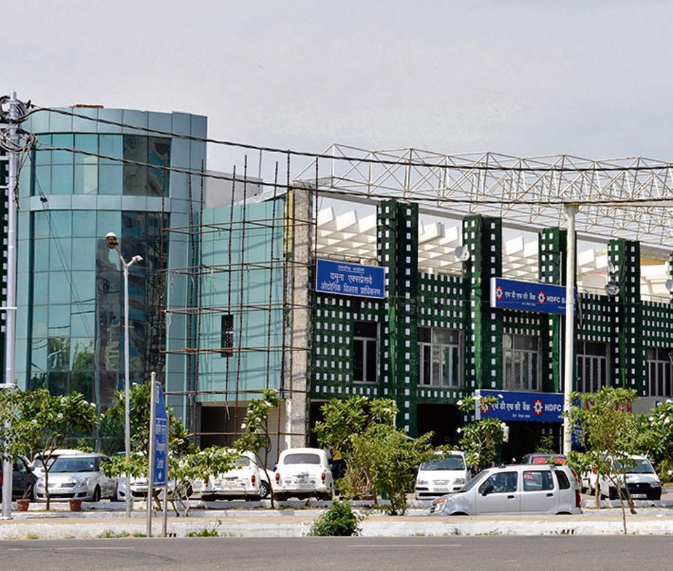 The Yamuna Expressway industrial development authority (YEIDA).