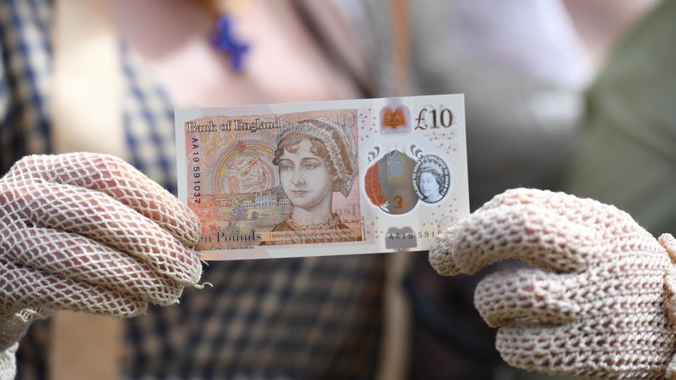Jane Austen,10-pound note,Bank of England
