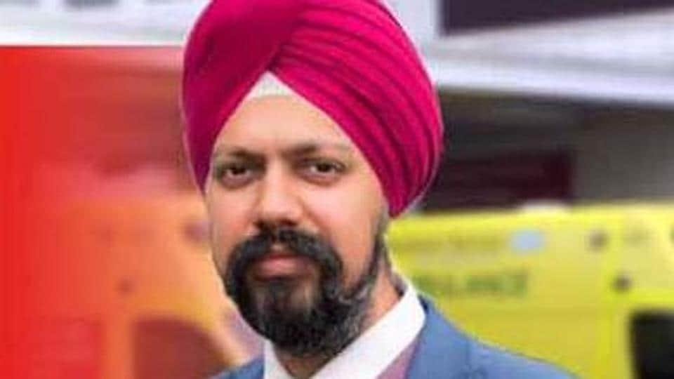 turban-wearing Sikh MP,Britain's Parliament,Tanmanjeet Singh Dhesi