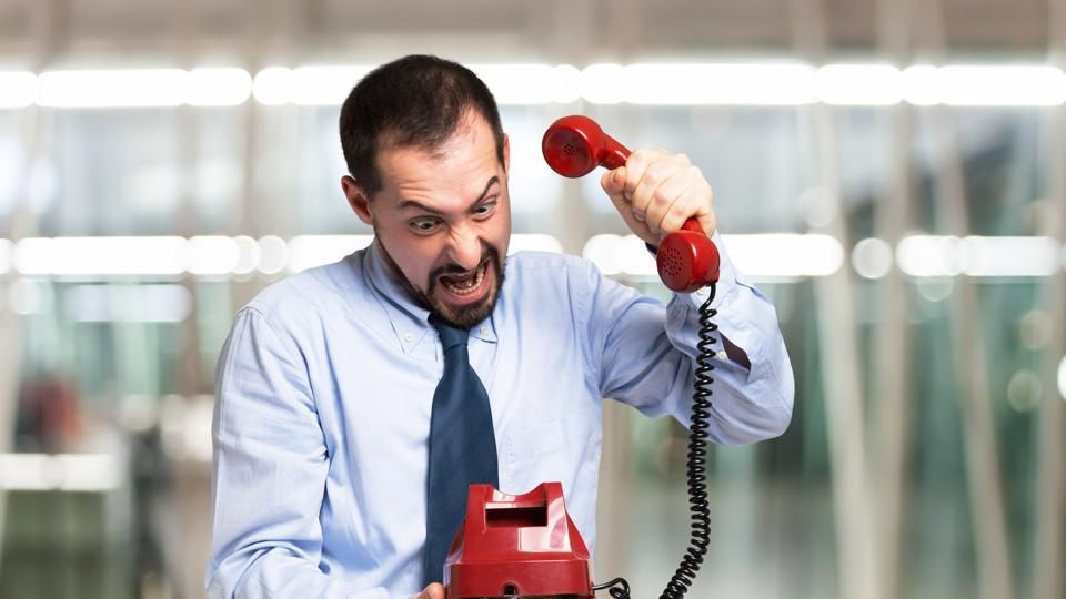 The study of 94 call-centre workers in China found that mistreatment by customers like yelling, arguing and swearing put the employees in a bad mood after work.